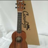 Ukulele Cowboy Soprano 21 Inch Original/Gitar Kecil 4 Senar
