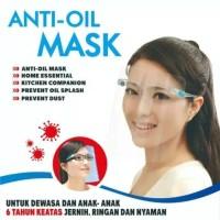 Face Shield Kacamata anti oil mask