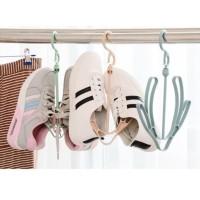 Jemuran Hanger Gantungan Sepatu Multifungsi Hanger Shoes Dryer