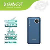 ROBOT RT100Q 10000mAh Powerbank Fast Quick Charge QC 3.0 PD Type C