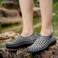 Sandal Selop Olahraga Model Crocs Anti Air Untuk Pria