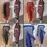 Kaftan Batik Sabrina Dress Premium Quality By Khayra Ori Solo