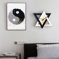 Produsen baru kepribadian Nordic hitam dan putih kreatif jam dinding