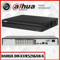 DVR 16 CHANNEL DAHUA XVR5216AN-X UP TO 5MP PENTABRID SUPPORT 2 HARDISK