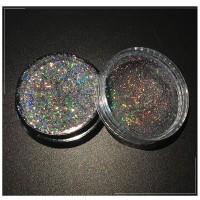 Kutek Kuku Glitter Galaxy Holo