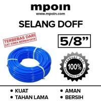 Mpoin Selang Air PVC 5/8 Doff Elastis, Aman,Bersih Kuat dan Tahan Lama