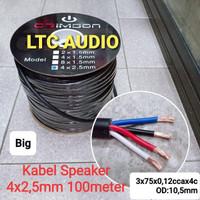KABEL SPEAKER CRIMSON 4x2,5 mm BIG (100 METER)