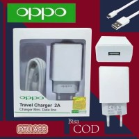 Charger Original Oppo Realpict AK933 A3S, A5S, A37, A57, F3, F5, 2A