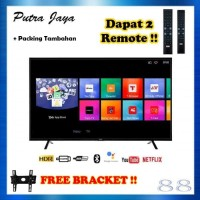 TCL L32S6800 LED TV 32 INCH SMART ANDROID TV + PACKING TAMBAHAN