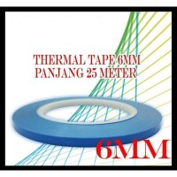 Thermal Tape 25 meter x 6 mm