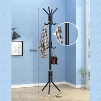 Multifunction Stand Hanger/Gantungan Berdiri/Hanger Gantungan Baju Tas