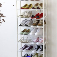 Rak Sepatu Jilbab Sandal Multifungsi 10 Tingkat Shoe Rack 10 Susun
