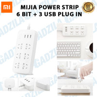 XIAOMI POWER STRIP STOP KONTAK POWERSTRIP 6 PORT + 3 USB ORIGINAL