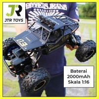 Mainan RC Mobil Rock Crawler 1:18 Off Road 2.4GHz 4WD