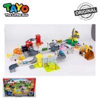Original Tayo The Little Bus Tayo City 6in1 Playset TYX-219016