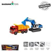 Daesung Toys Truck Dump & Shovel DS-160 Excavator Fork Lift Truk Korea