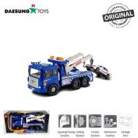 Daesung Toys Truck Police Wrecker Car DS-954-1 Truk Polisi Korea
