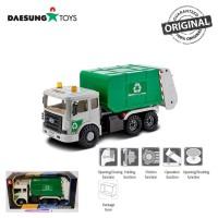 Daesung Toys Truck Garbage Truck DS-966-1 Sampah Street Cleaning Korea