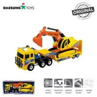 Daesung Toys Truck Turbo King Shovel Trailler DS-919 Fork Lift Korea