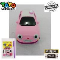 Original Tayo The Little Bus Minimi Heart Metal Die Cast TYX-219015