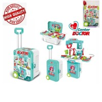 Pretend Toys Little Luggage Center Doctor 3in1 Little Doctor PlaySet