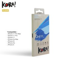 KORA Tempered Glass Clear for iPhone X / Xs / Xr / Xs Max