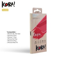 KORA Tempered Glass Clear for iPhone 7 / 8 / SE 2020 / 7 Plus / 8 Plus