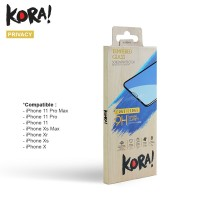 KORA Tempered Glass Full Edge2Edge for iPhone X / Xs / Xr / Xs Max