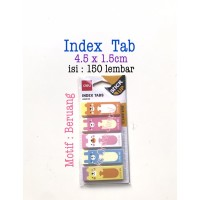 DELI 150 lbr Index Tab DELI Motif Stick Up A64002 post it ATK1017DL