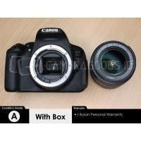 Canon DSLR EOS 700D kit 18-55mm IS STM - Grade A - C202454