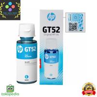 HP Tinta GT52 Cyan Original 90ml Ink Bottle 90 ml GT 52 - Cyan -Cyan