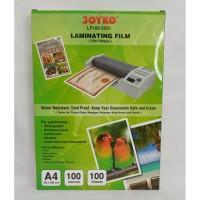 Joyko Film Pelapis A4 / Laminating Film LF100 - 2231 A4 [ 1 PACK ]