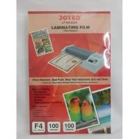 Joyko Film Pelapis Folio / Laminating Film LF100 - 2234 F4 [ 1 PACK ]