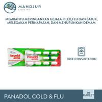 Panadol Cold & Flu - Membantu Meredakan Batuk, Pilek, dan Flu
