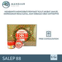 Salep 88 (Obat Gatal, Panu, Kurap, Kutu Air, Jamur, Kadas, Kurap)
