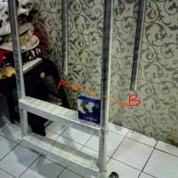 tangga kolam renang 2 step customer madura