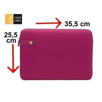 Tas Laptop Case Logic Sarung Softcase Macbook Sleeve 13 inch - pink