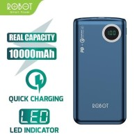 ROBOT Power Bank RT100Q Two Way Quick Charging 10000mAh With LED Ori