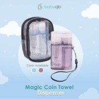 Babyqlo Coin Compressed Towel Dispenser With Pouch