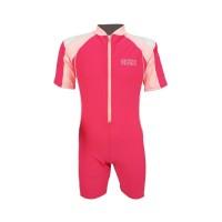 Arena Childrens Sunsuit PK AUV-20312 Baju Renang Jumpsuit Anak Pink