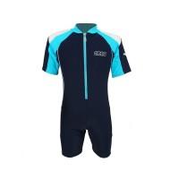 Arena Childrens Sunsuit NB AUV-20312 Baju Renang Jumpsuit Anak Biru