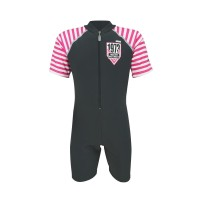 Arena Childrens Sunsuit GYPK AUV-20305 Baju Renang Jumpsuit Anak Grey