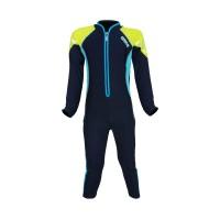Arena Childrens Sunsuit NB AUV-20365 Baju Renang Jumpsuit Anak Biru