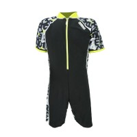 Arena Childrens Sunsuit BK AUV-20308 Baju Renang Jumpsuit Anak Hitam