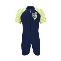 Arena Childrens Sunsuit NBGN AUV-20305 Baju Renang Jumpsuit Anak Biru