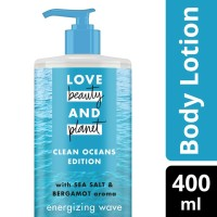 Love Beauty and Planet - Lotion - Sea Salt and Bergamot Aroma (400ml)