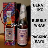 Minyak Gosok Cap Tawon Tutup Putih ASLI 330 ml