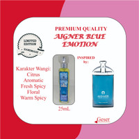 Inspired Parfum Aigner Blue emotion kualitas Premium - 25ml Premium