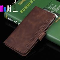 Flip Case Wallet Samsung Galaxy S10E S10 E S 10 E Leather Case Multi - Cokelat