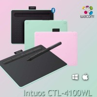 original wacom CTL.4100WL bluetooth graphic pen tablet